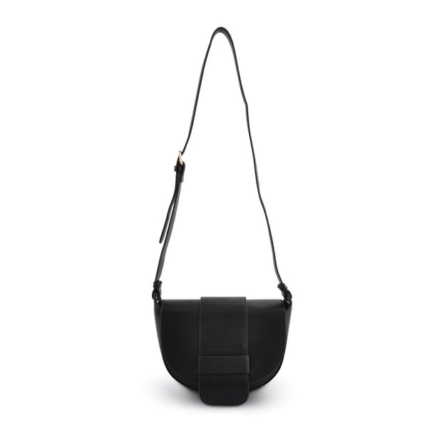 Curved Side Bag - Black