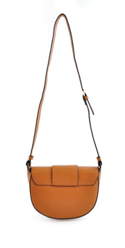Curved Side Bag - Tan