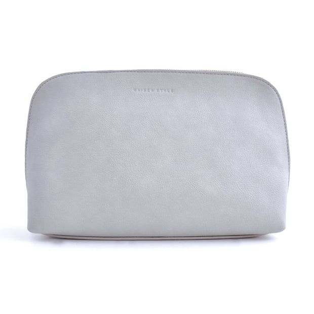 Large Cosmetic Bag - Grey