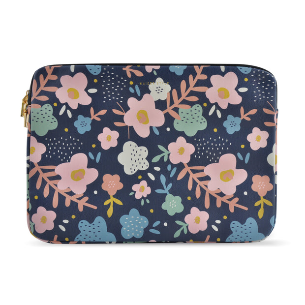 Laptop Sleeve - Navy Floral