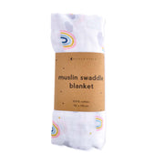 Muslin Swaddle - RAINBOWS