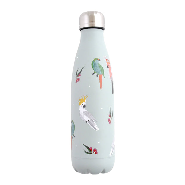 500ml Metal Drink Bottle - COCKATOO