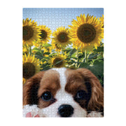 1000pce Puzzle - SUNFLOWER PUP