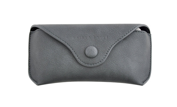 PU Glasses Case - DARK GREY