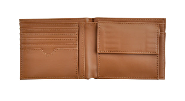 PU Wallet Coin Pocket - BROWN