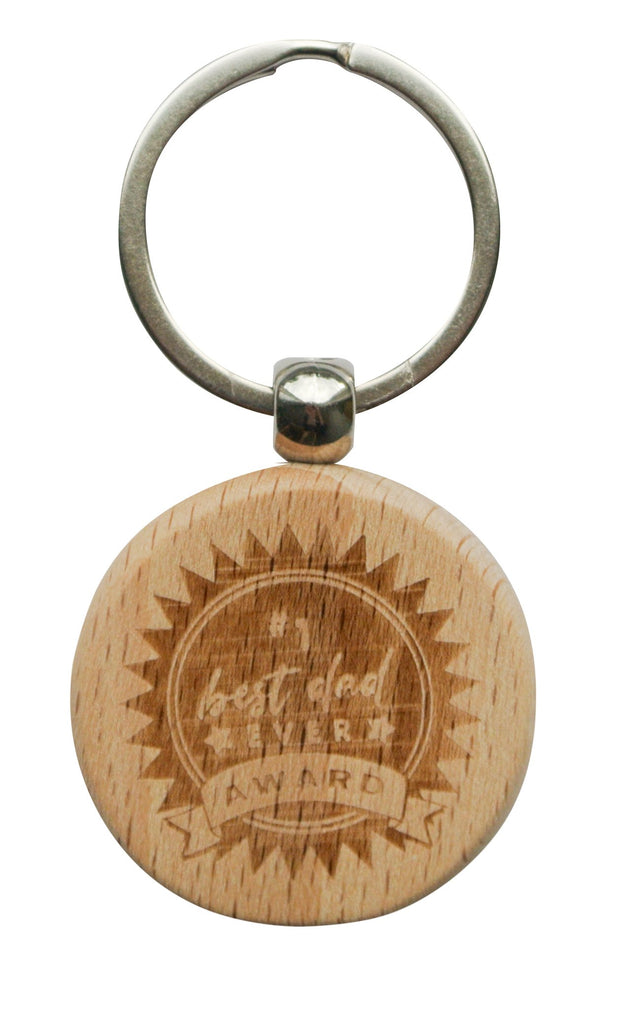 Wooden Keyring - BEST AWARD