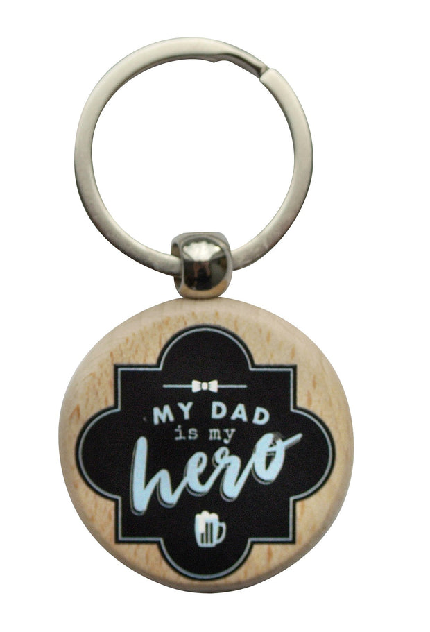 Wooden Keyring - MY HERO