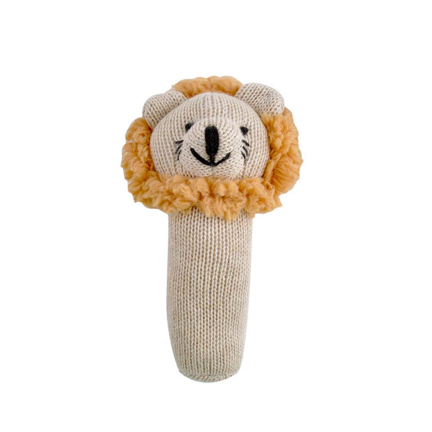 Plush Rattle - LEO LION