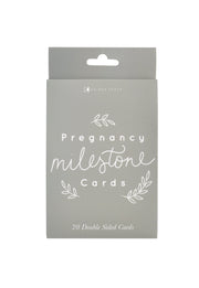 Pregnancy Milestone Cards - FOLIAGE