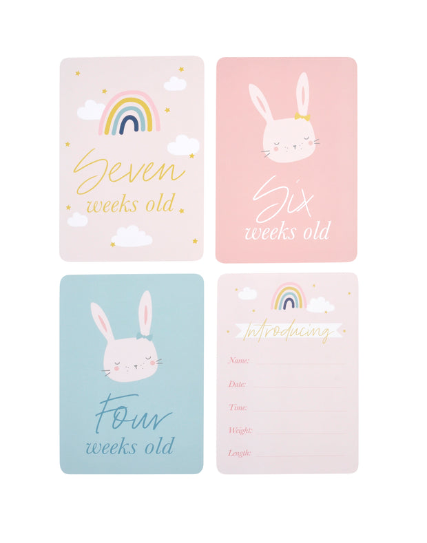 Baby Milestone Cards - GIRL