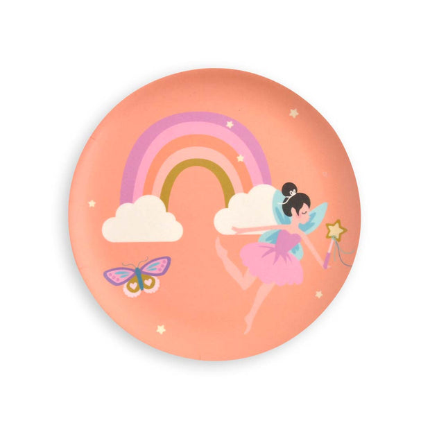 Kids Bamboo 4pc Plate set - WHIMSICAL
