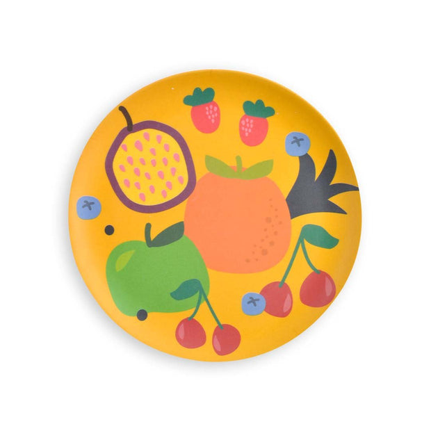 Kids Bamboo Plate set - HAPPY CHAPPY