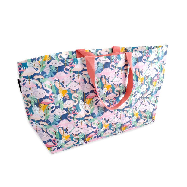 Reusable Bags - Shopper Bag - FIESTA FLAMINGOS