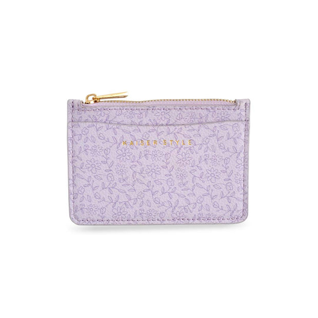 Card Pouch - LILAC POSY