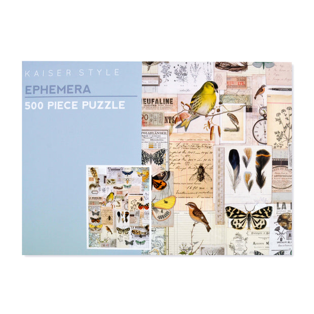 500pcs Puzzle - EPHEMERA