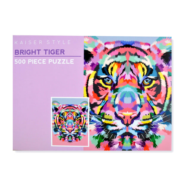 500pcs Puzzle - BRIGHT TIGER