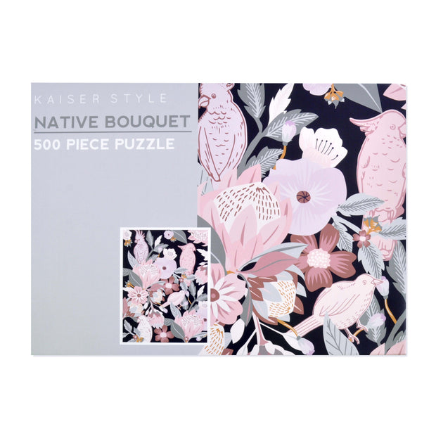 500pcs Puzzle - NATIVE BOUQUET