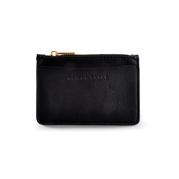 PU - Card Pouch - BLACK