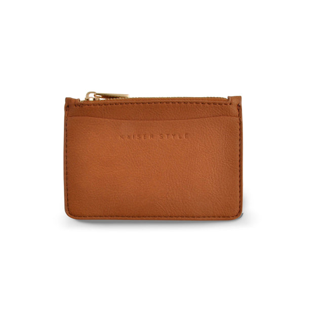 PU - Card Pouch - TAN