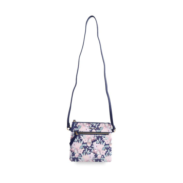 PU Sq Handbag - NATIVE BOUQUET