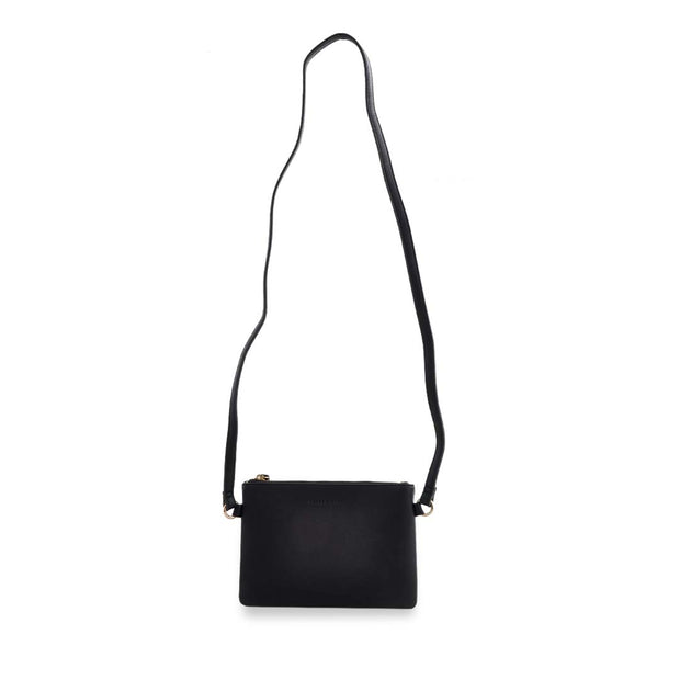 PU Mini Rec Bag - BLACK