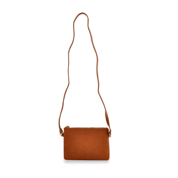 PU Mini Rec Bag - TAN