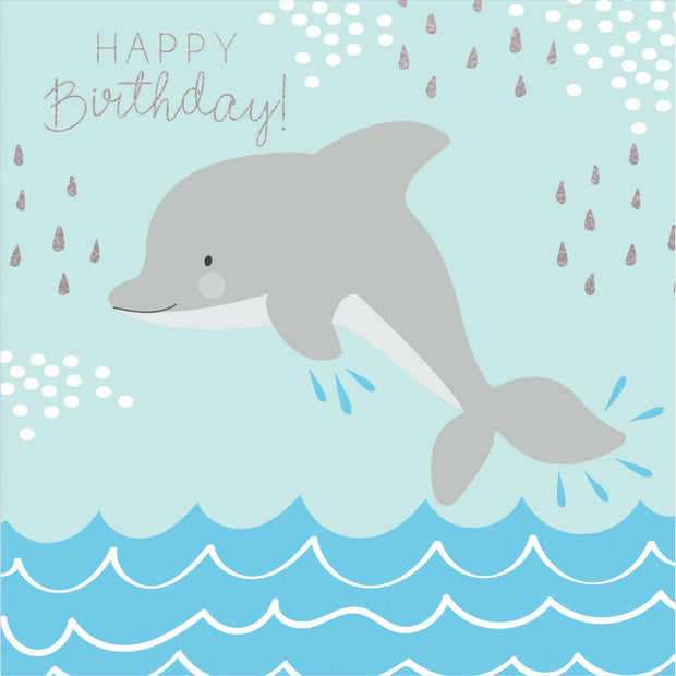 Under The Sea - Happy Birthday Dolphin