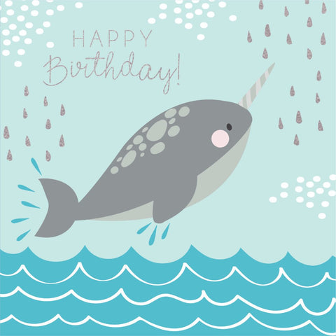Under The Sea - Birthday Narwhal