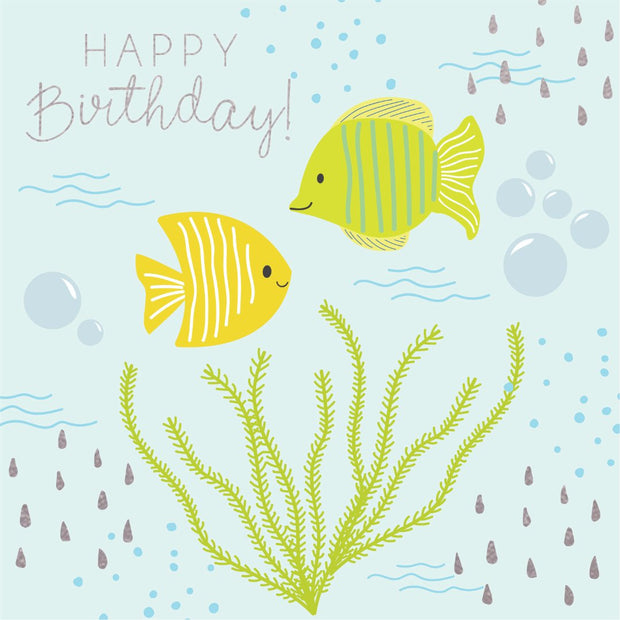 Under The Sea - Happy Birthday (Fish)