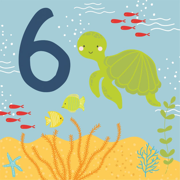 Under The Sea - 6th Birthday