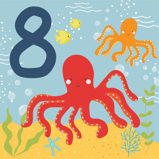 Under The Sea - 8th Birthday