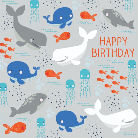 Under The Sea - Happy Birthday