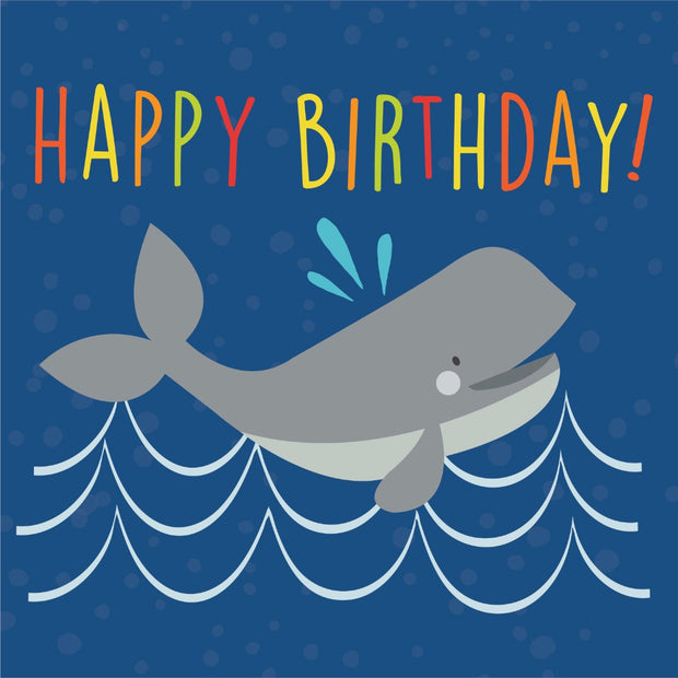 Under The Sea - Happy Birthday (Whale)