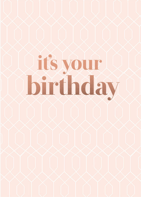 Blush - Its Your Birthday