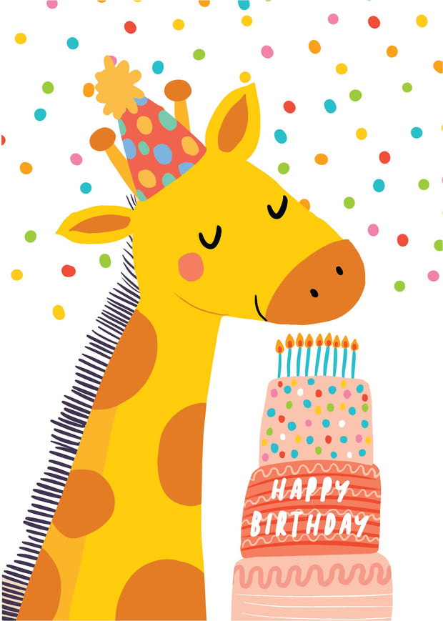 Party Animals - Giraffe Cake