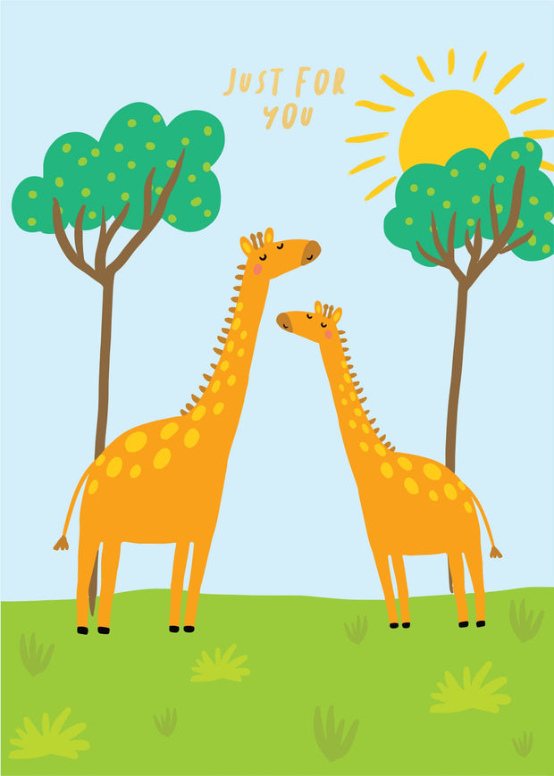 Party Animals - 2 Giraffes