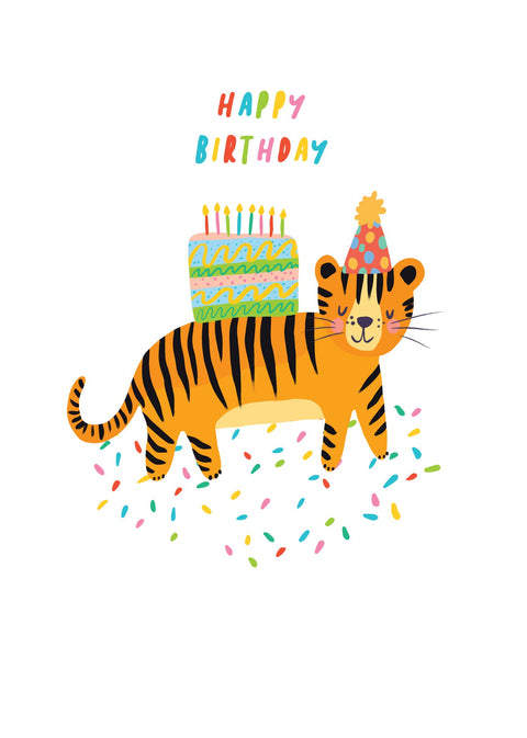 Party Animals - Tiger Cake