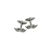 Cufflinks - Moustache Gunmetal