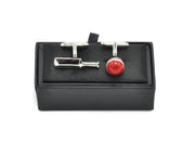 Cufflinks - Cricket Set