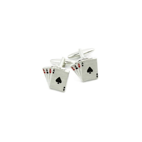 Cufflinks - Playing Cards