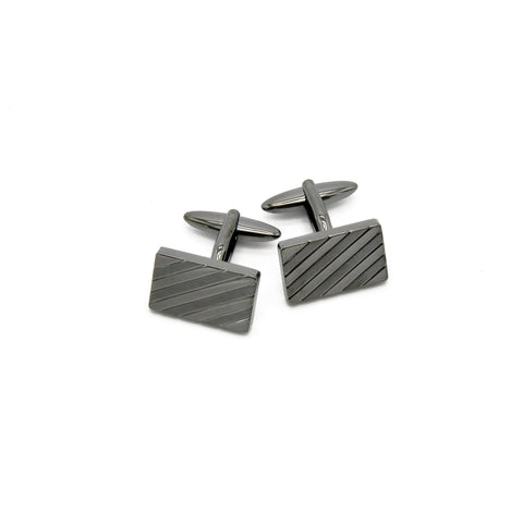 Cufflinks - Diagonal Stripe