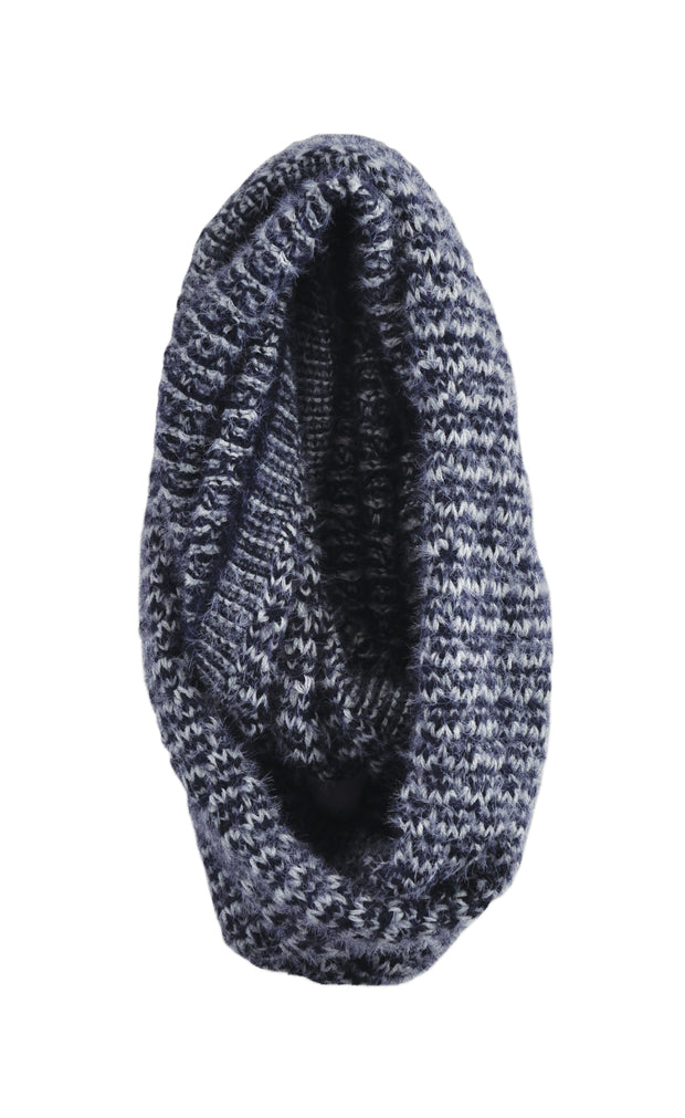 Textured Snood - NAVY