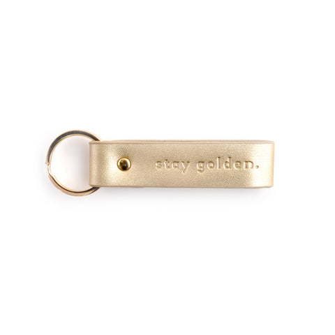 Key Chain - STAY GOLDEN
