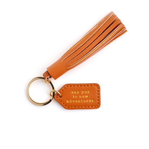 Tag & Tassel Key Chain - ADVENTURE