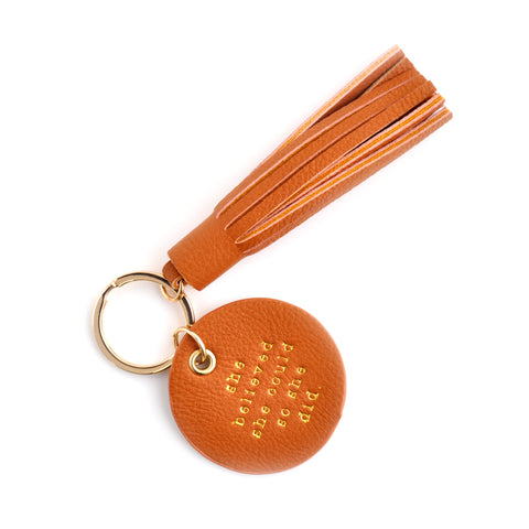 Circle & Tassel Key Chain - SHE