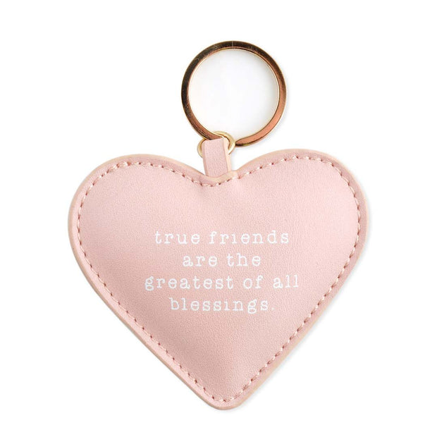 PU Shapes Key Chain - TRUE FRIENDS
