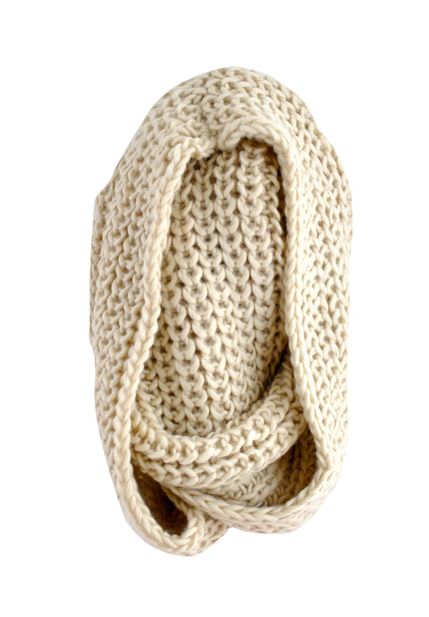 Large Snood - OATMEAL