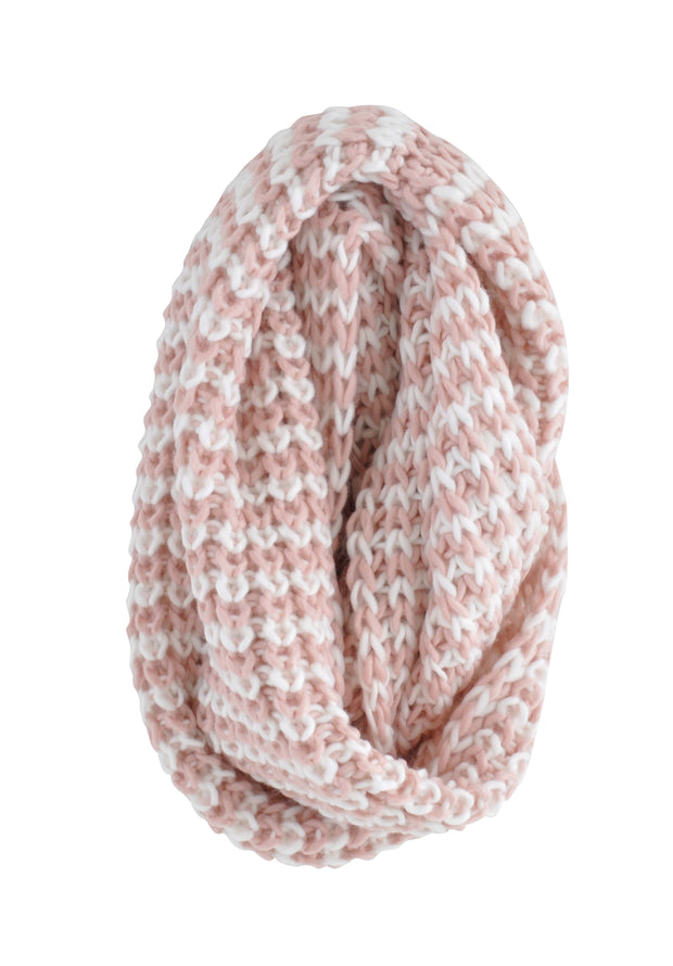 Large Snood - BLOSSOM & CREAM
