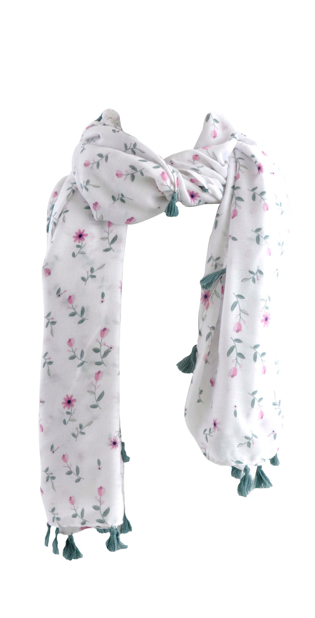 Printed Scarf - LILAC BLOOM