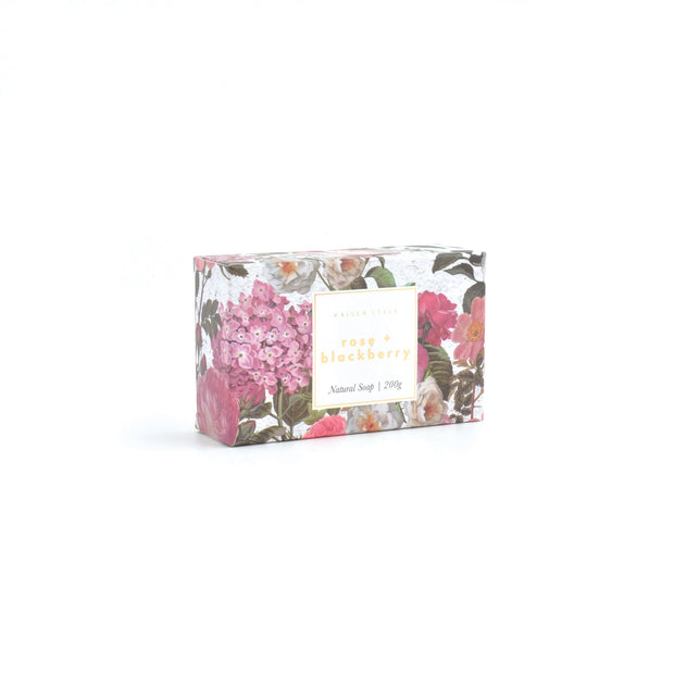 Box Soap - ROSE & BLACKBERRY